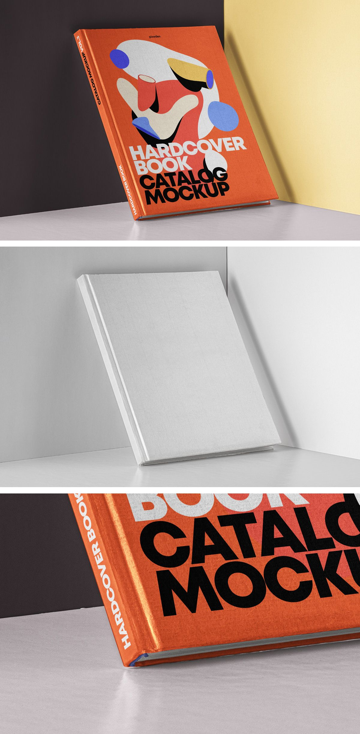Free Hardcover Book Cover Mockup Book cover mockup, Book
