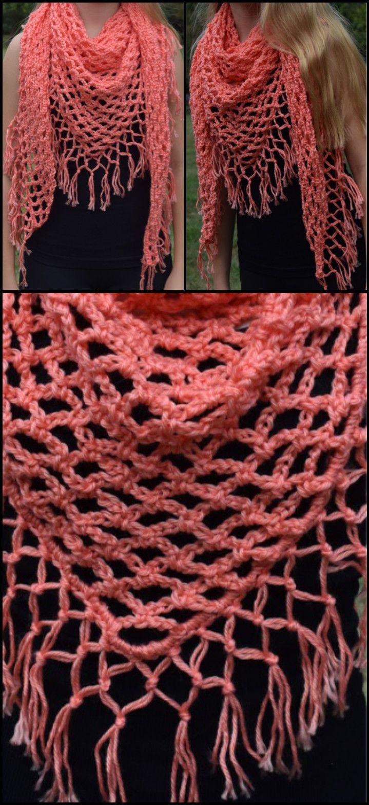 100 Free Crochet Shawl Patterns - Free Crochet Patterns