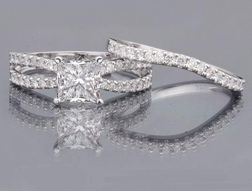 Unique Princess Cut Engagement Rings | 15 carat Princess ...