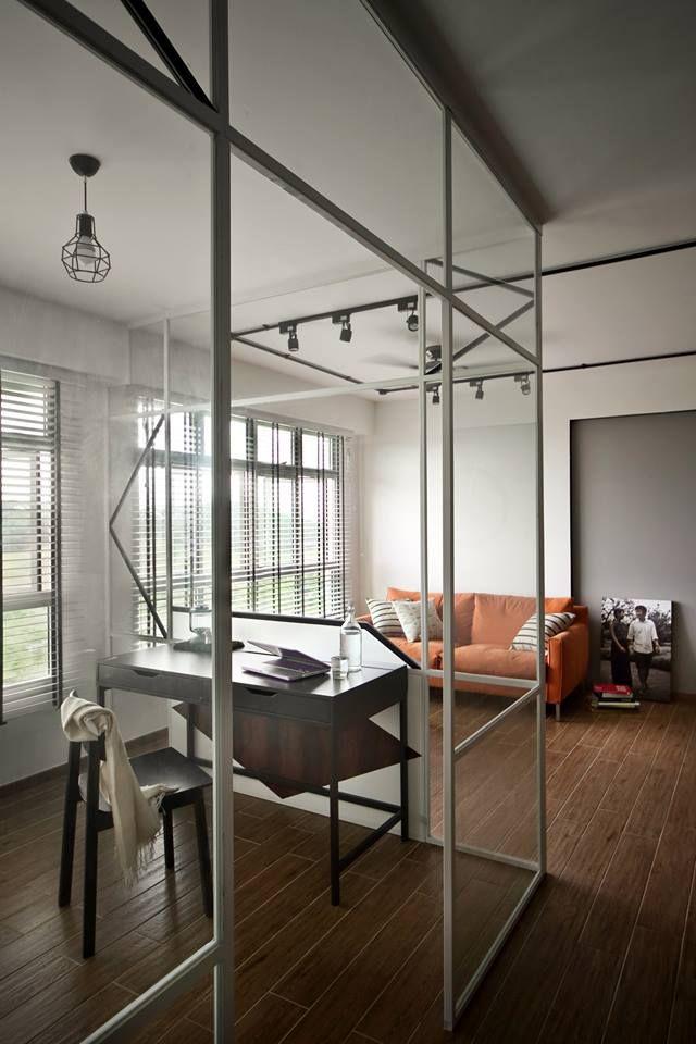 Hdb Study Room Design Ideas: Sumang Link, Modern Scandinavian HDB Interior Deisgn