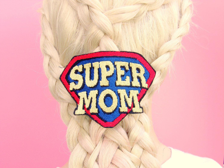 Gift Ideas For Mom - Super Mom Hair Clip - Birthday Gift For Mom ...