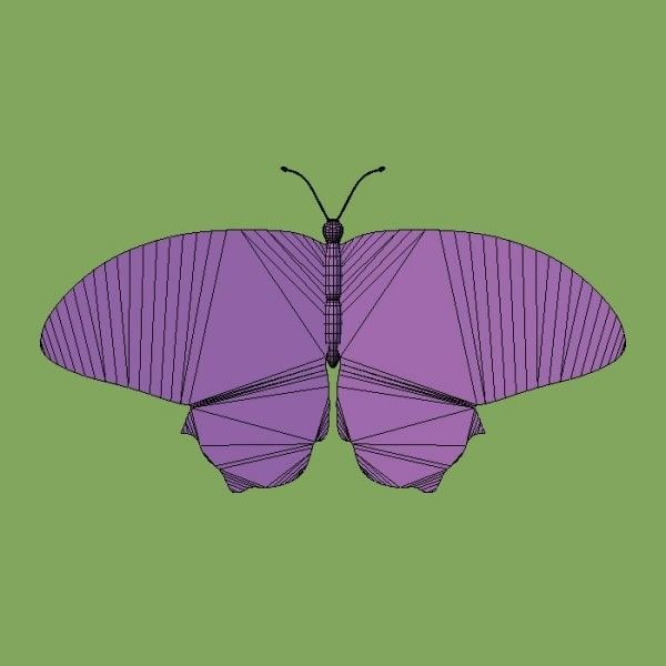 3ds rative butterfly fg