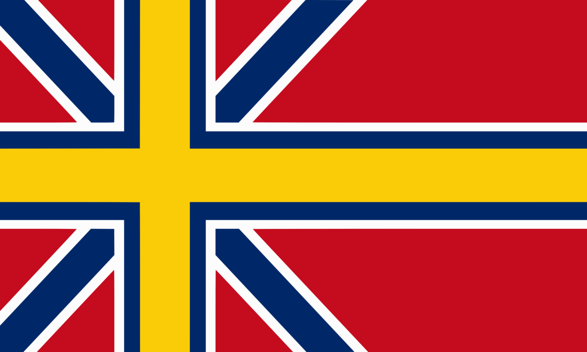 United Kingdom Of Scandinavia By Achaley On Deviantart Flag Scandinavia Flags Of The World