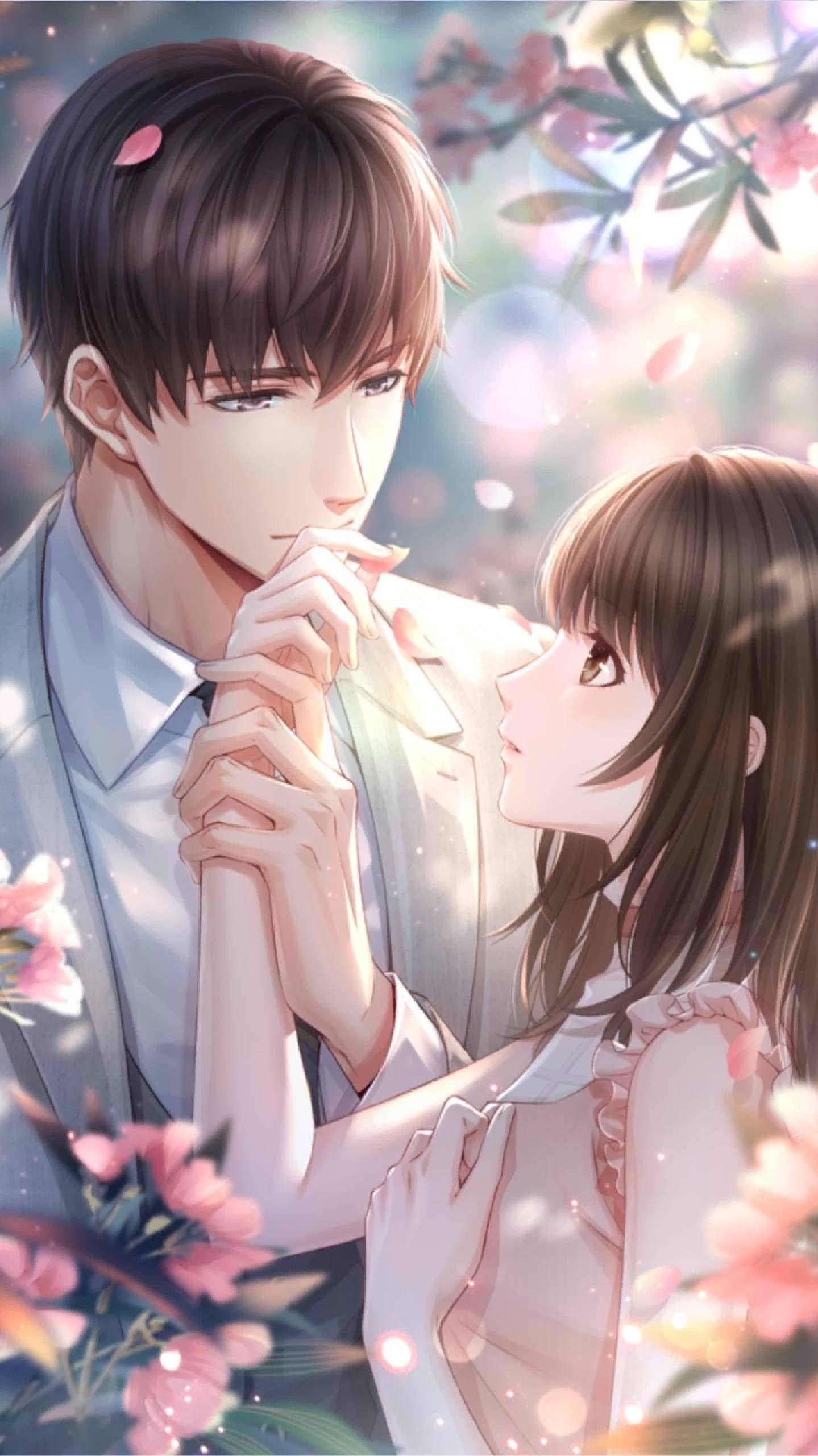 Pin oleh Tasneem Anjum di •恋与制作人• Gambar anime