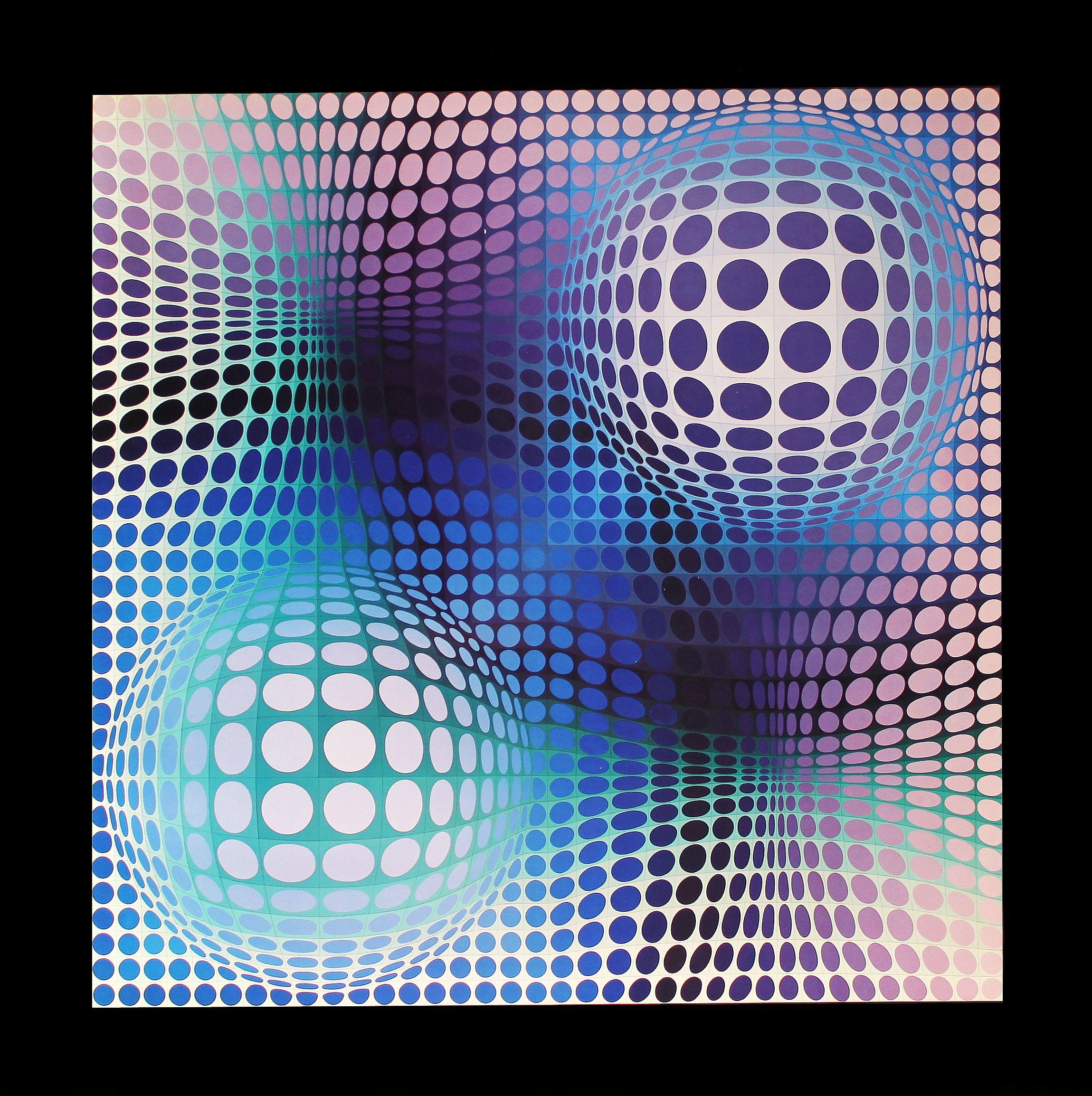 Victor Vasarely Malvorlagen Coloring and Malvorlagan
