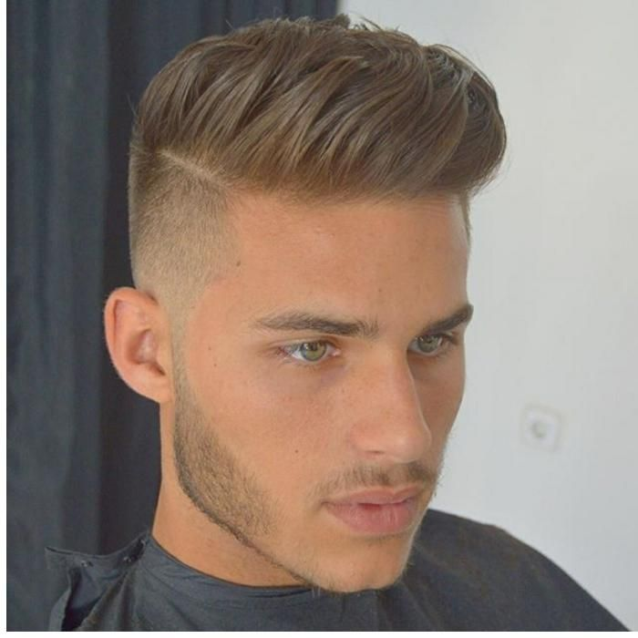 Haarschnitt Mit übergang