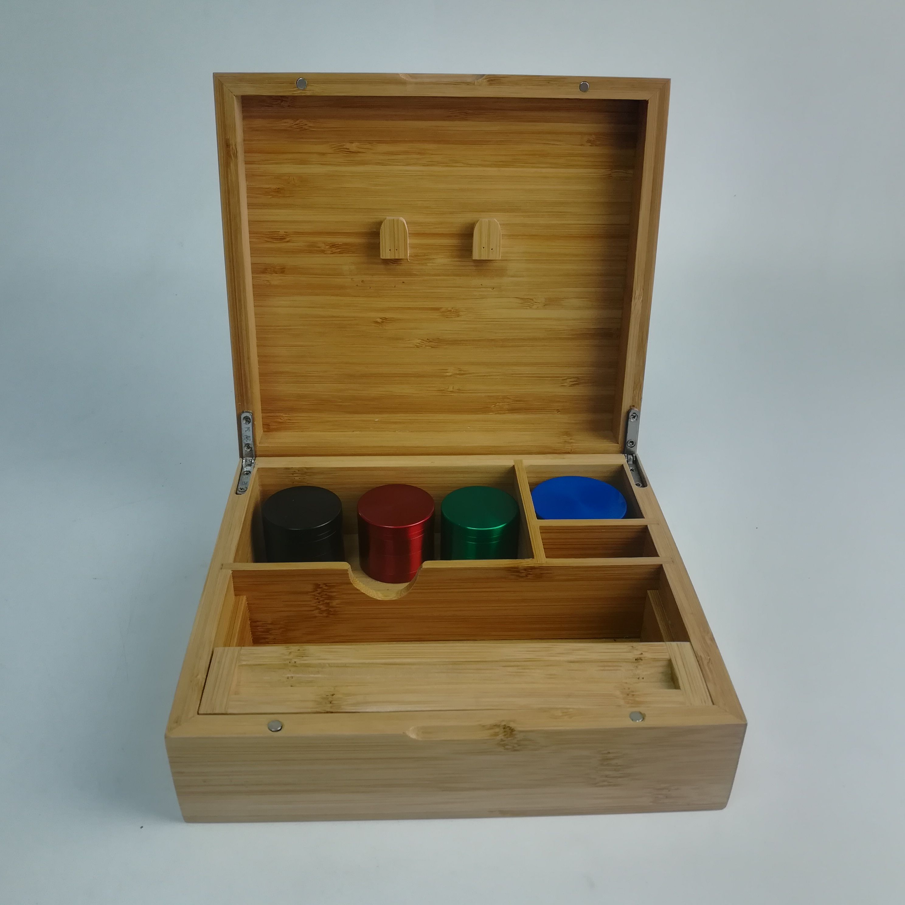 Bamboo Jewelry Box Cajas De Madera De Madera Cajas