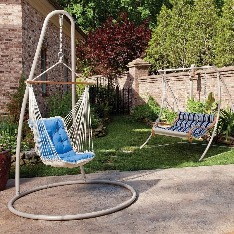 Single hammock chair stand