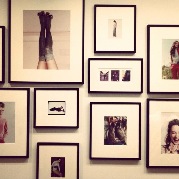 Frame Wall Jcrew Frame Wall Collage Frames On Wall Photo Wall Collage