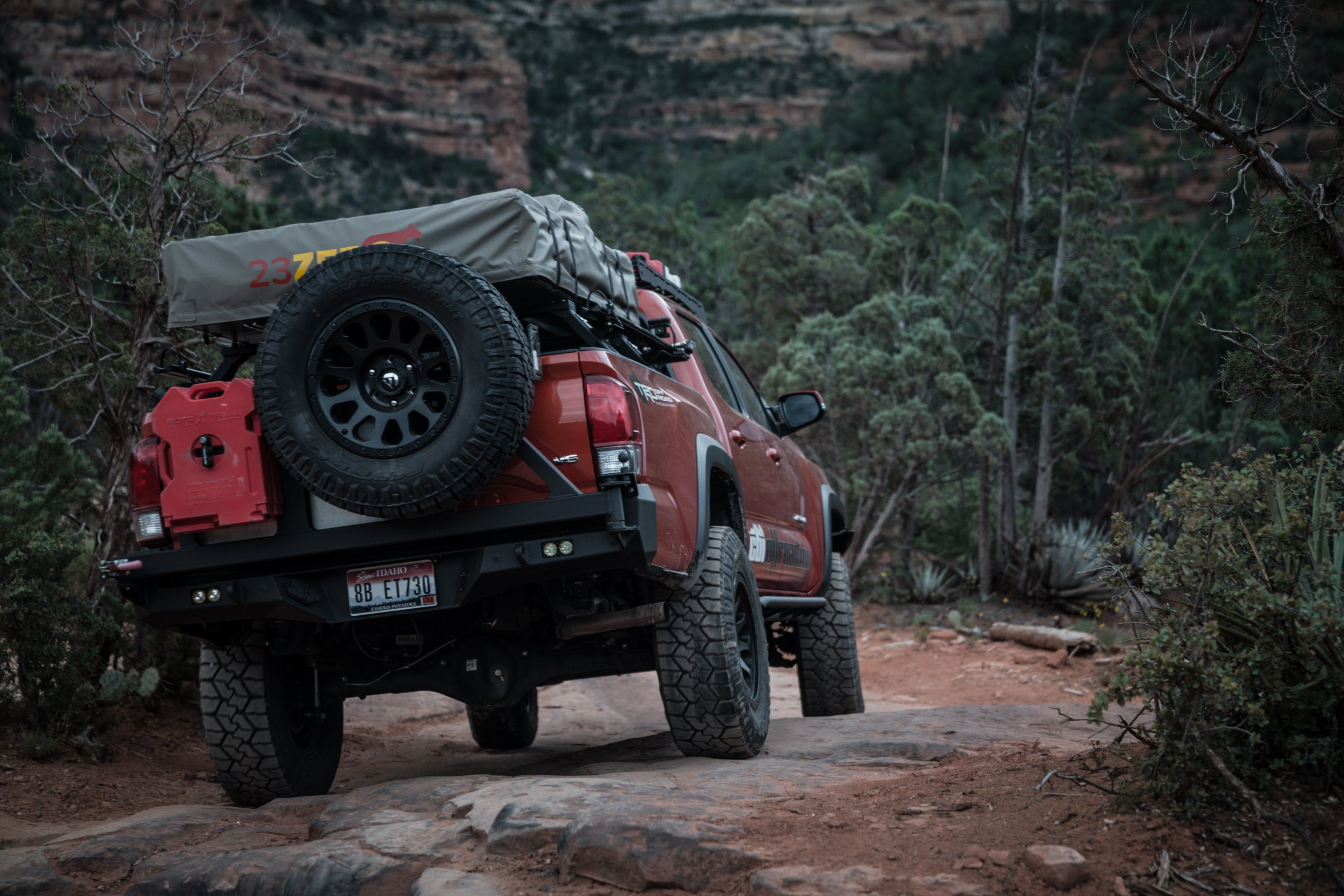 Outfit your rig for offroading and overlanding expeditions