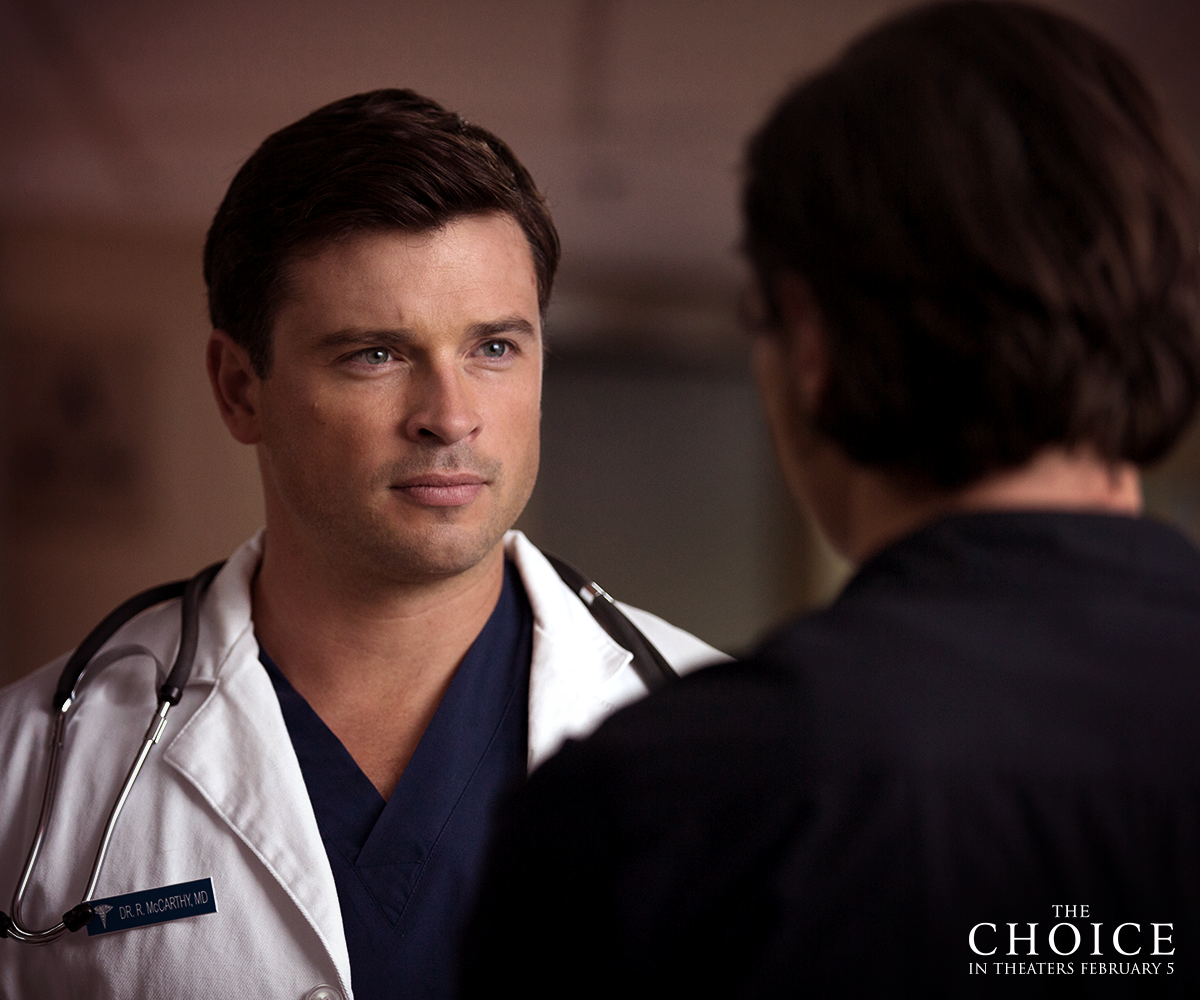 Ryan (Tom Welling) is the practical and logical choice, but is he the right one?#TheChoice