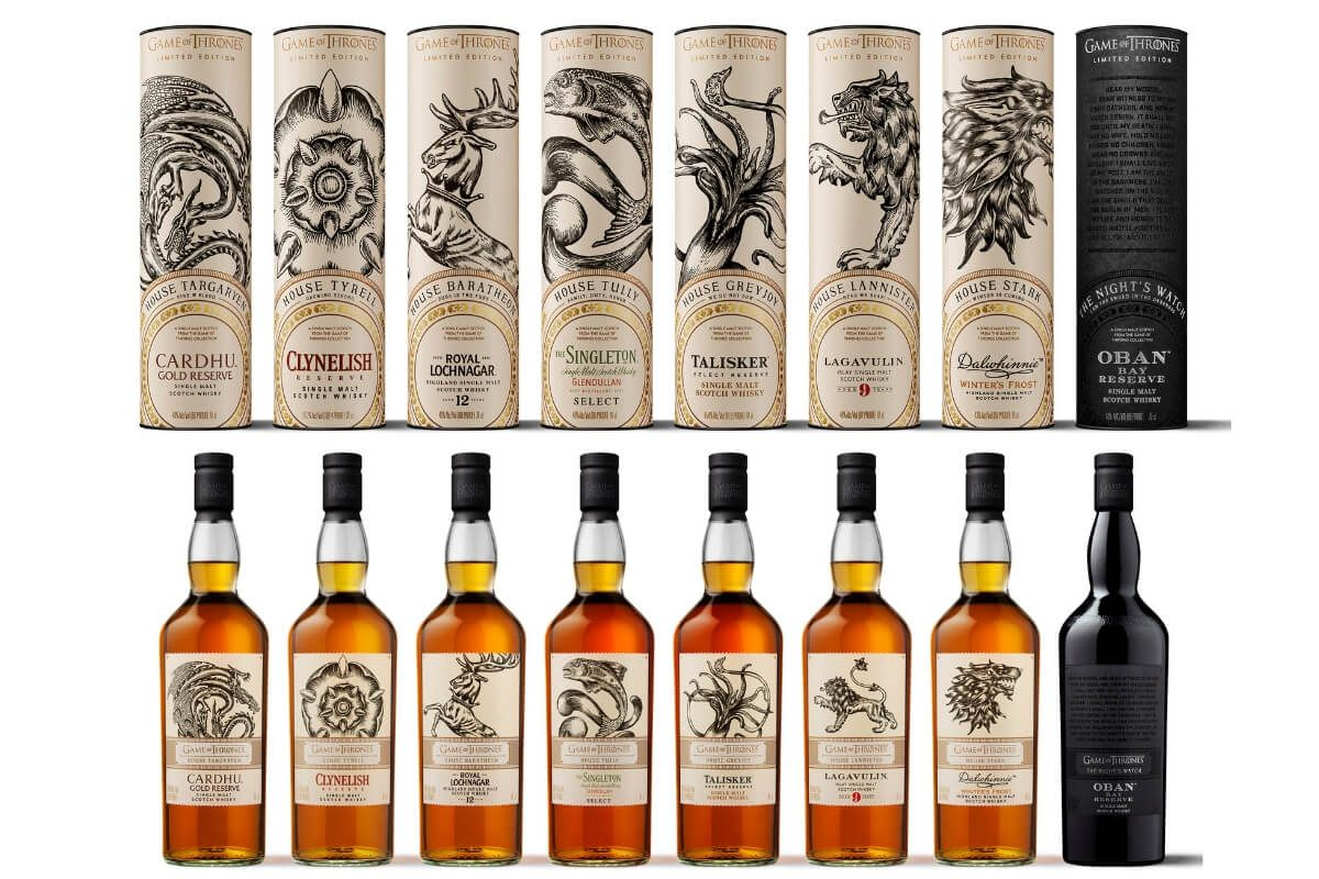 Limited edition Game of Thrones®inspired single malt