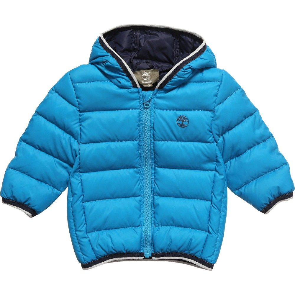 5579021647b2 Timberland Boys Blue Down Padded Jacket at Childrensalon.com