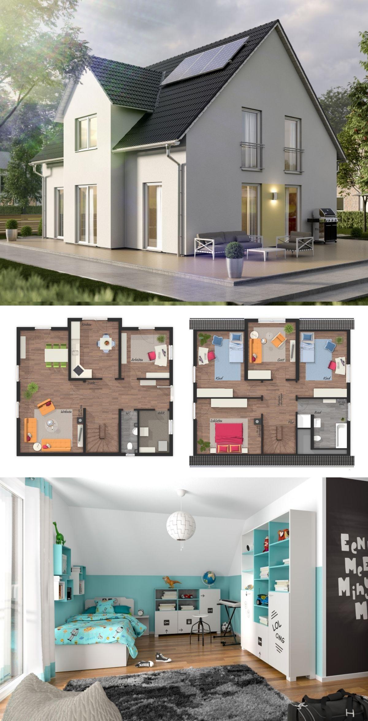 Einfamilienhaus LICHTHAUS 152 mit Zwerchgiebel