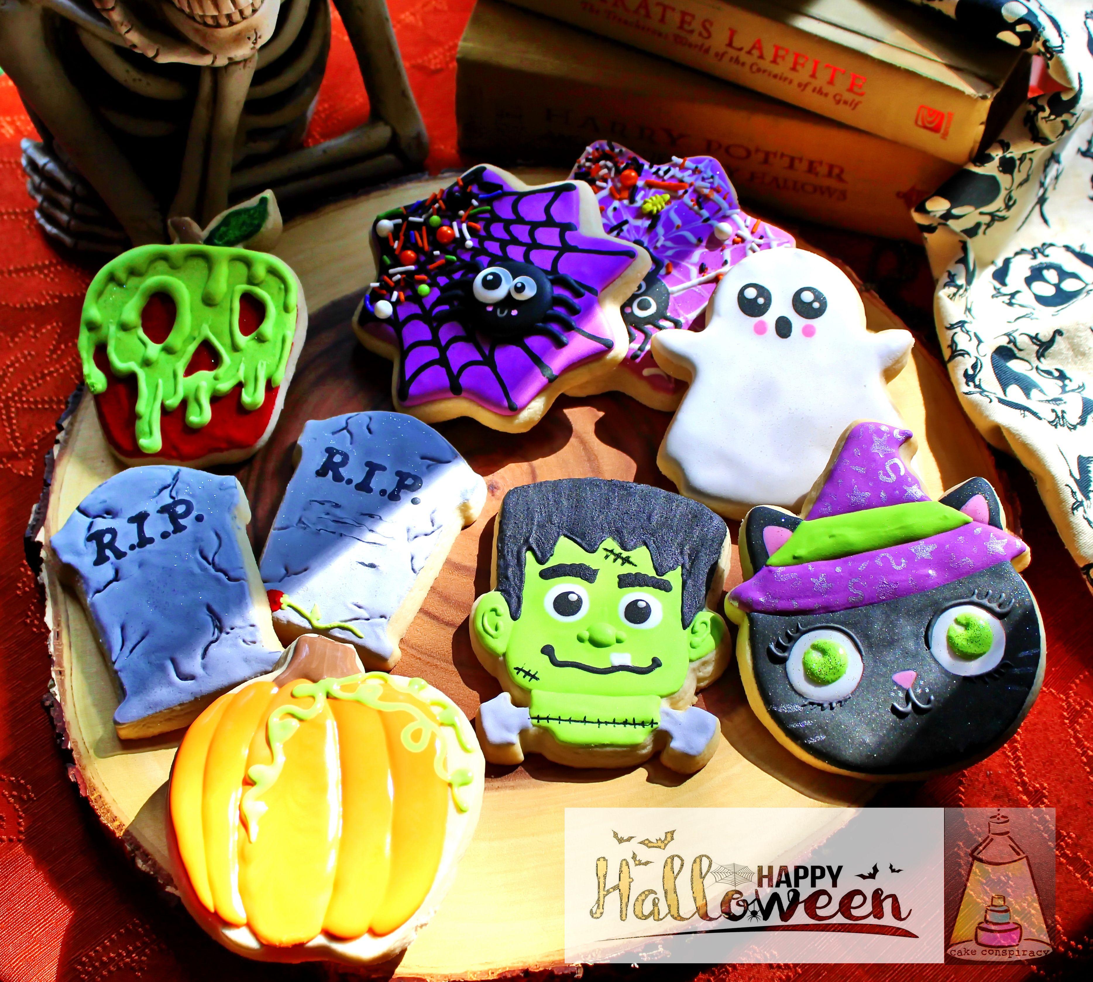 Custom Halloween Cookies Buy Now!! | Halloween cookies ...