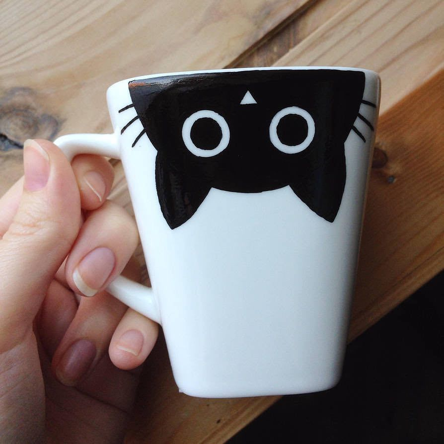 Still Looking For the Perfect Gift? It Doesn't Get Any Easier Than This DIY Sharpie Mug #mugart