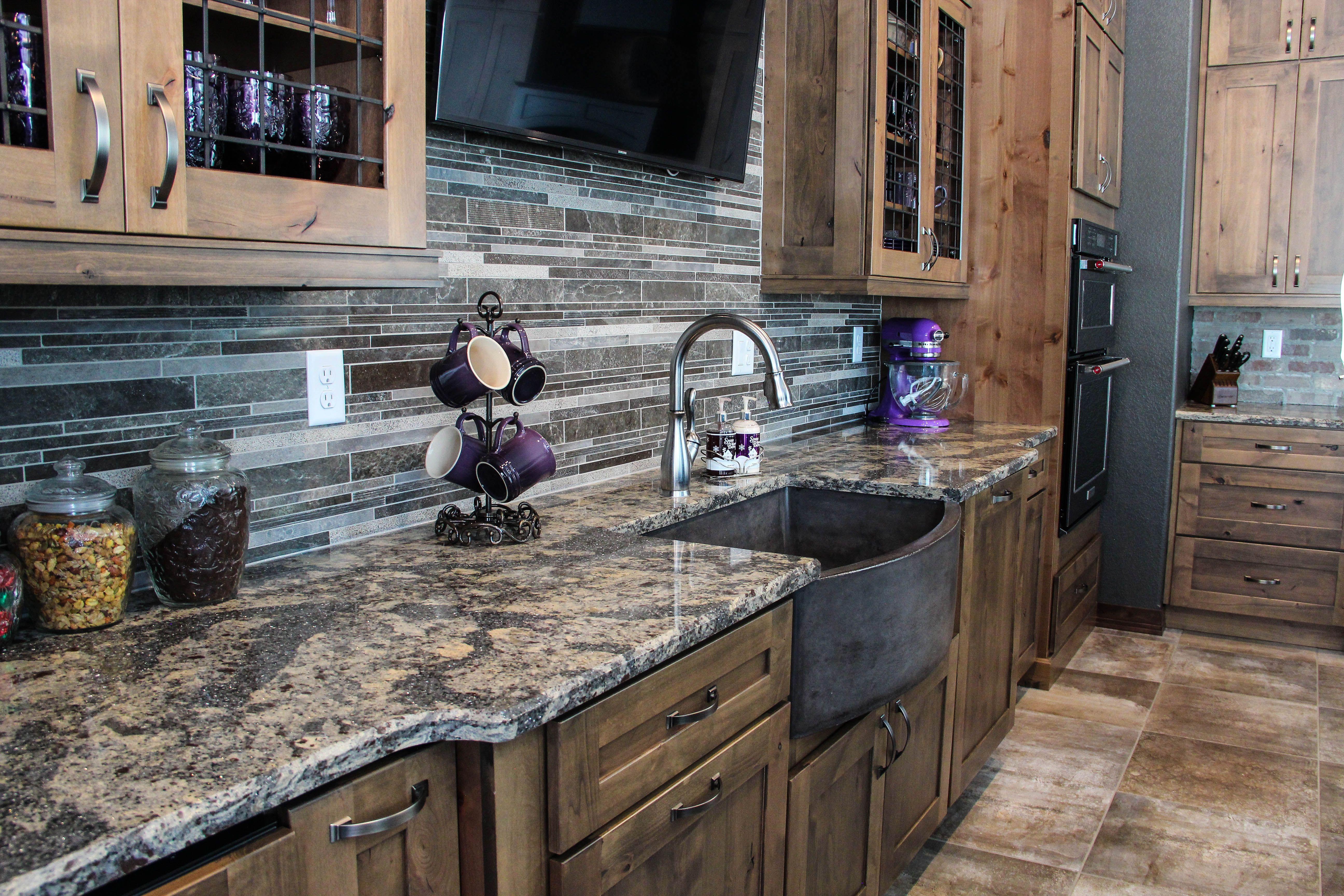 Beautiful cambria quartz countertop in hunter nd color