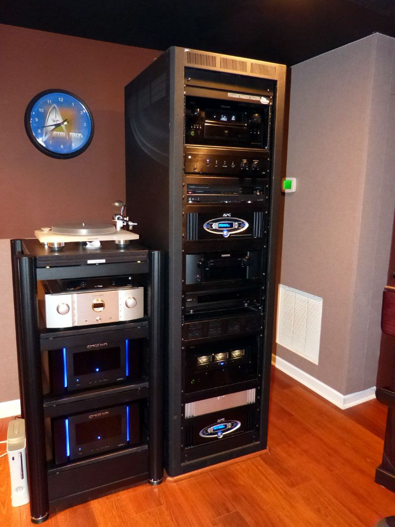 Audioholics+Rack | Computer | Home theater rooms, Home theater, Home