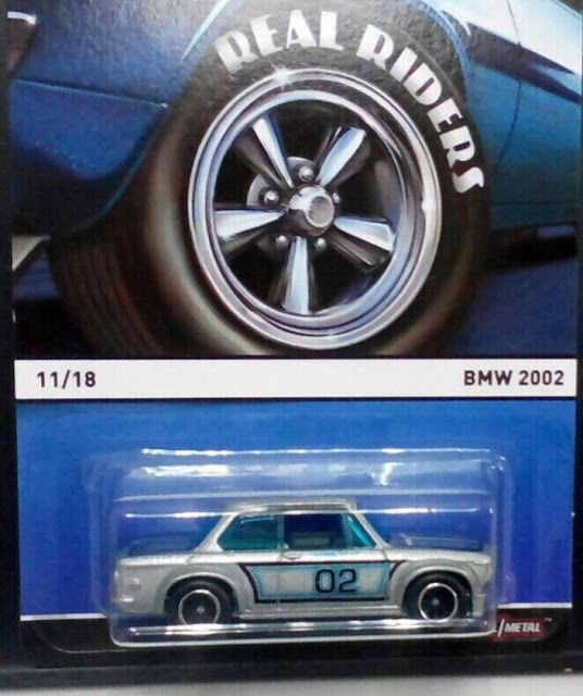 Just Unveiled Hot Wheels Heritage Real Riders Bmw 2002 With