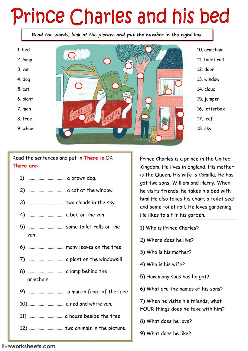 Reading Comprehension Interactive And Downloadable Worksheet You Can Do The Exercises Reading Comprehension Worksheets Reading Comprehension Inferring Lessons English worksheet reading pdf