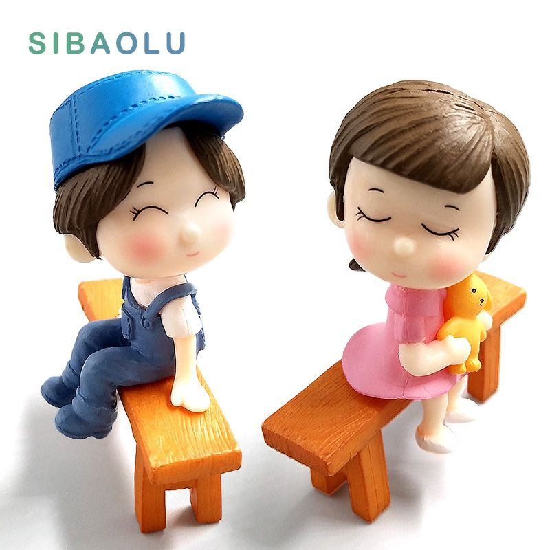 Wedding Doll Figurines Miniatures For Garden decoration //Price: $8.99 & FREE Shipping //     #vegetable