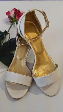 2b7de7abecca svatební sandálky barva Ivory.... svatební boty