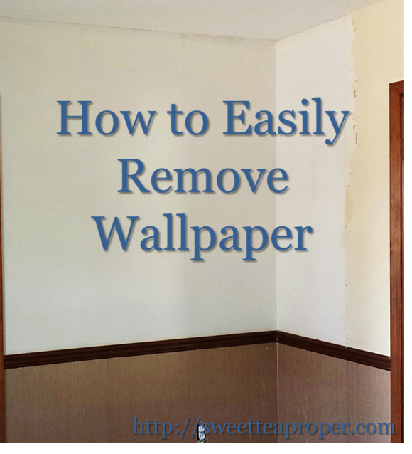 How To Remove Wallpaper Easy Home Diy Diy Home Improvement Diy Wallpaper