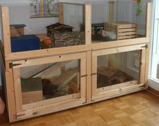 innenhaltung meerschweinchen kaninchengehege. Black Bedroom Furniture Sets. Home Design Ideas