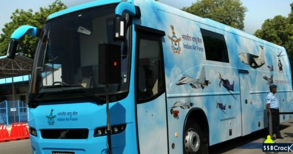 Indian Air Force New Bus To Attract Youth With Images New Bus