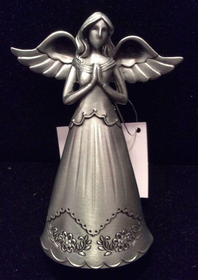 NEW Pewter Faithful Angel of PRAYER Figurine by Ganz