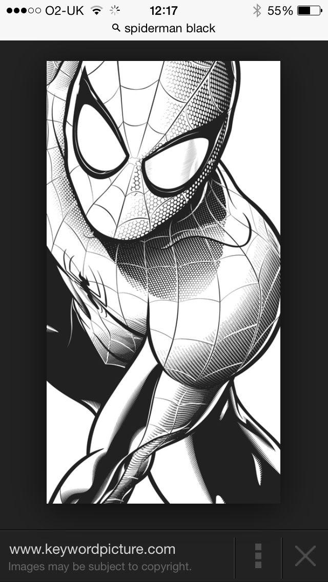 spider man black (mit bildern) | superhelden, bilder