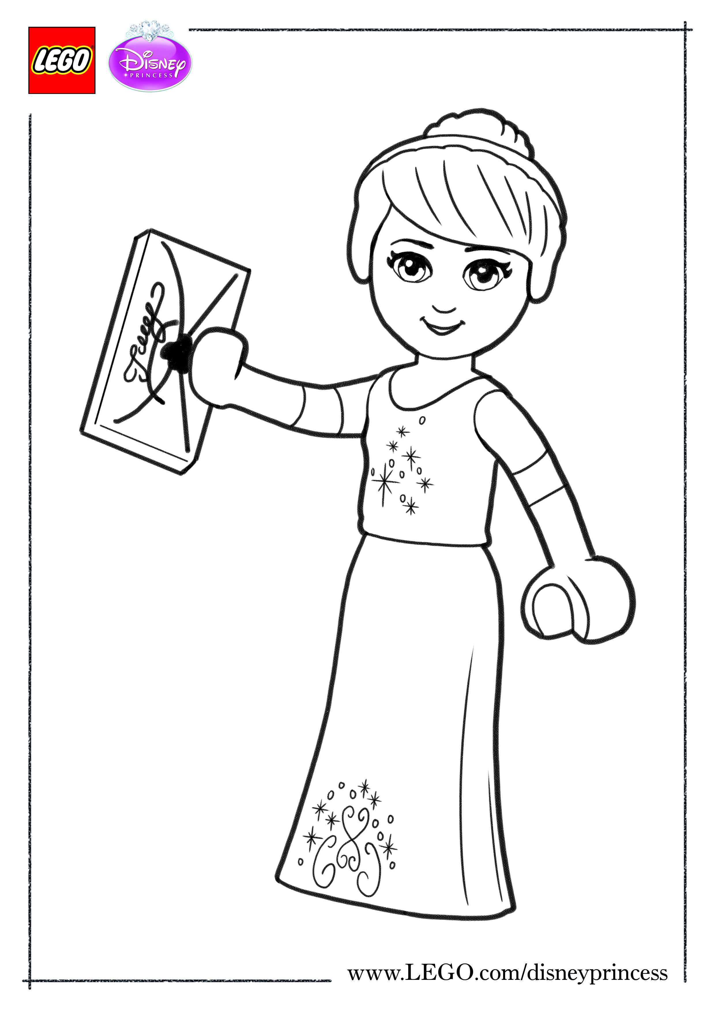 Print this Cinderella coloring sheet and color in your favorite ...