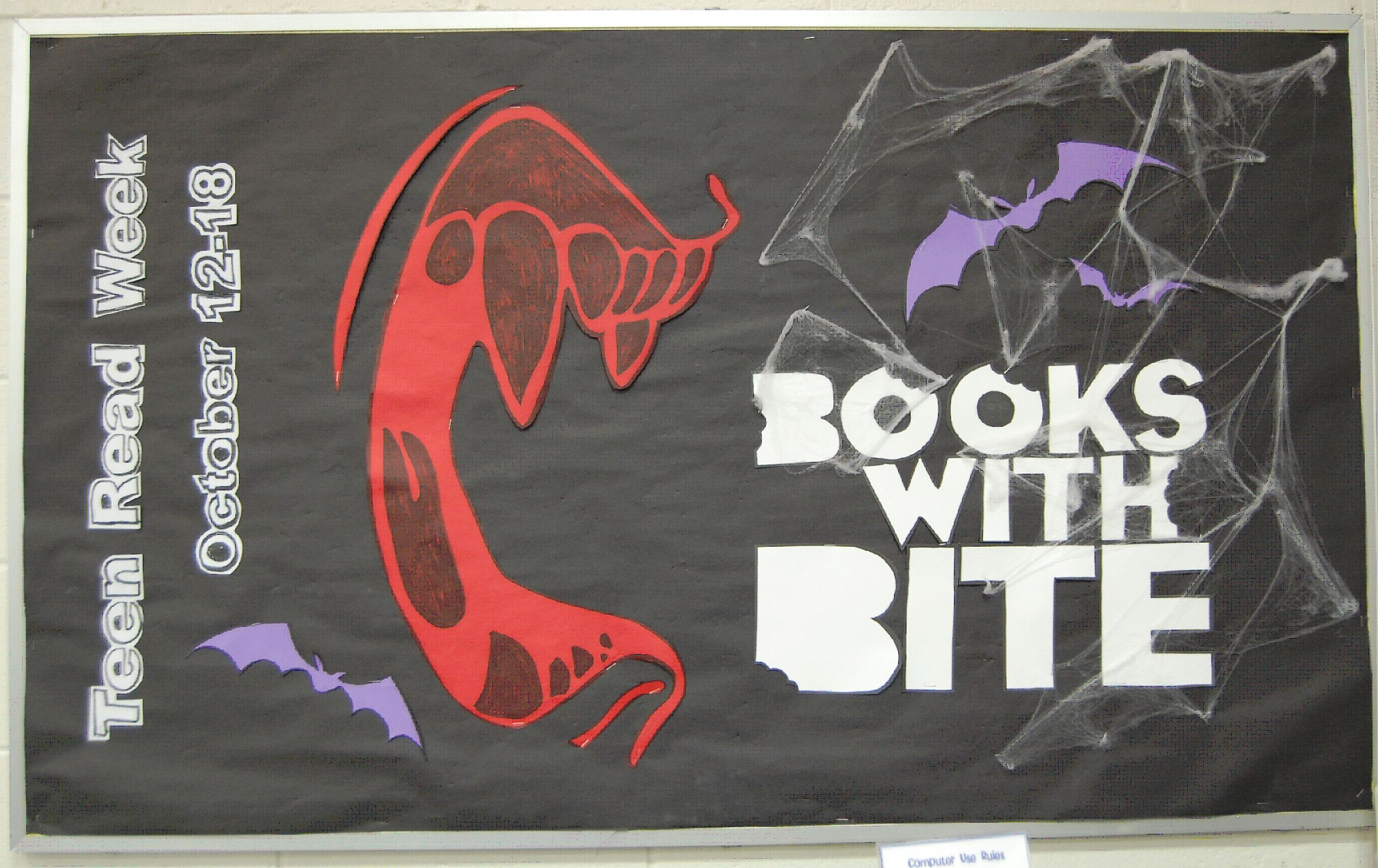 Books with bite bulletin board
