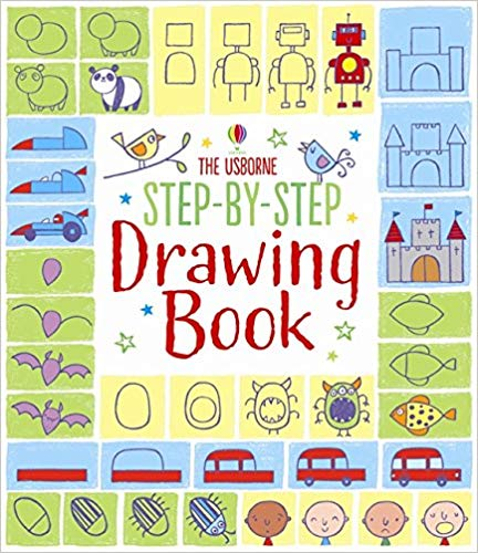 Step By Step Drawing Book Activity Book Watt Fiona Whatmore Candice 9781409565192 Books Step By Step Drawing Drawing Book Pdf Book Drawing