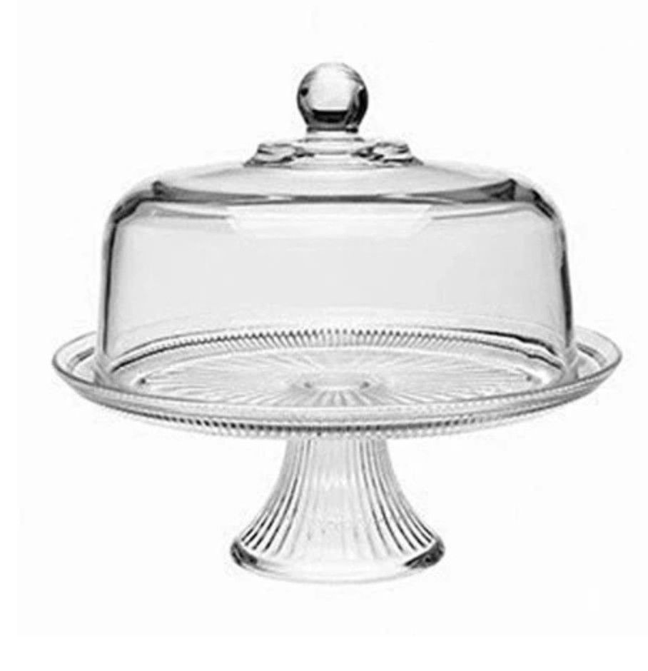 Cake Server 2 Piece With Images Glass Cake Stand Dessert Decoration Glass Cakes