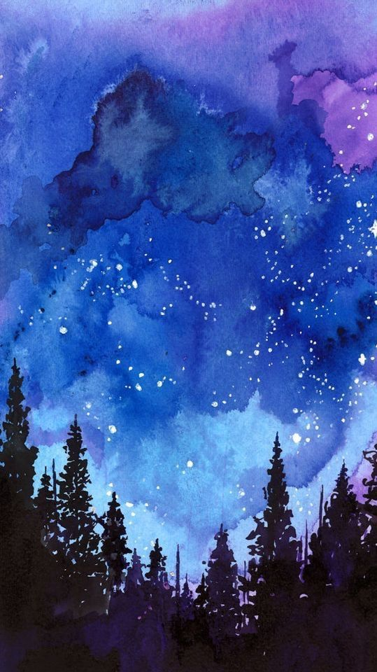 Image result for night star painting splatter in 2019