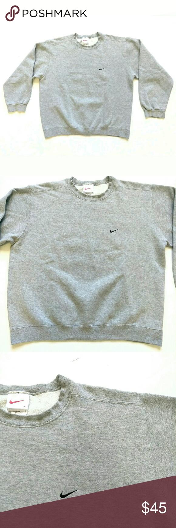 Vintage Nike Crewneck Sweatshirt Large Made In Usa Nike Crewneck Sweatshirt Vintage Nike Pullover Sweater Sweatshirts [ 1740 x 580 Pixel ]
