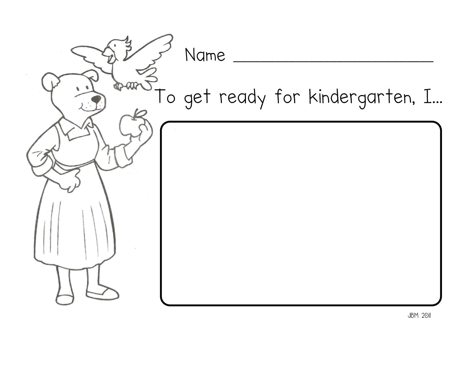 Room 131 Gets Ready For Kindergarten