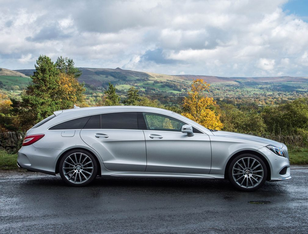 Mercedes Benz Cls 350 Bluetec Shooting Brake Amg Sport Package