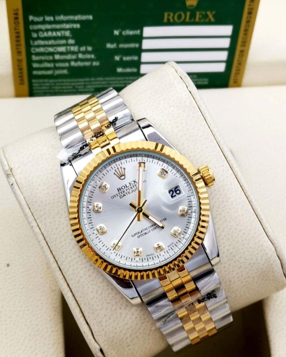 ماركه رولكس موديل رجالي تقليد درجه اولى طبق الاصل علبه ساده كرت الضمان السعر ريال جده توصيل مندوب باقي الم Rolex Watches Women Rolex Men Men Model