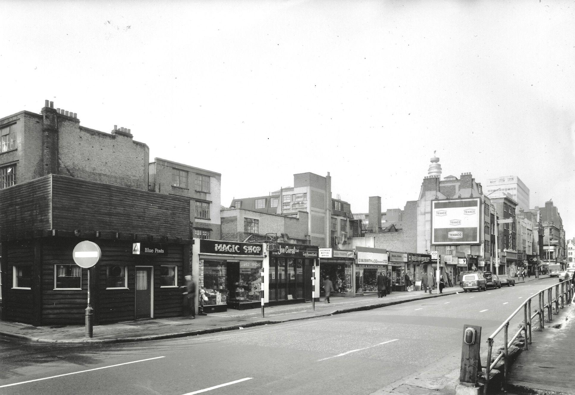 big sale 2c4e3 cbeac Tottenham Court Road c1965