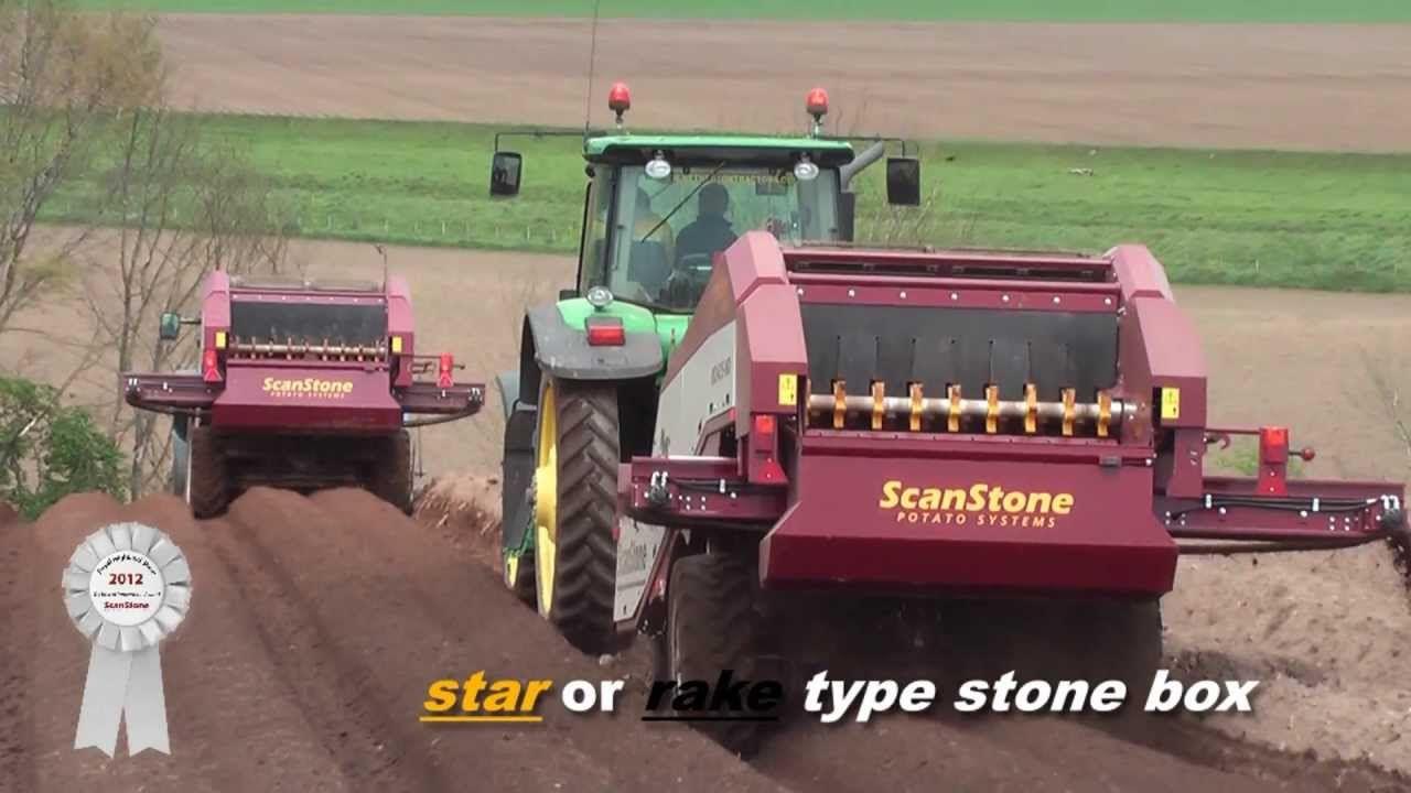 scanstone stone picker rock picker stone separator de stoner