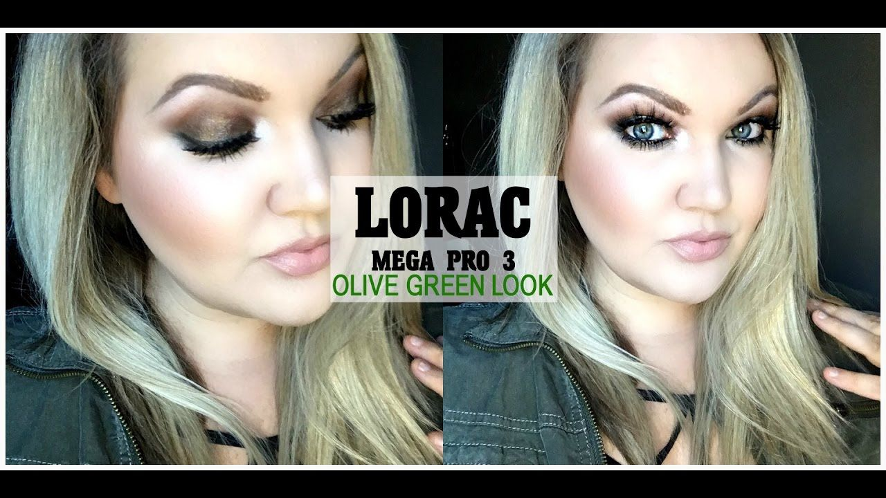 Olive Green Eye Look Using the Urban Decay Elements