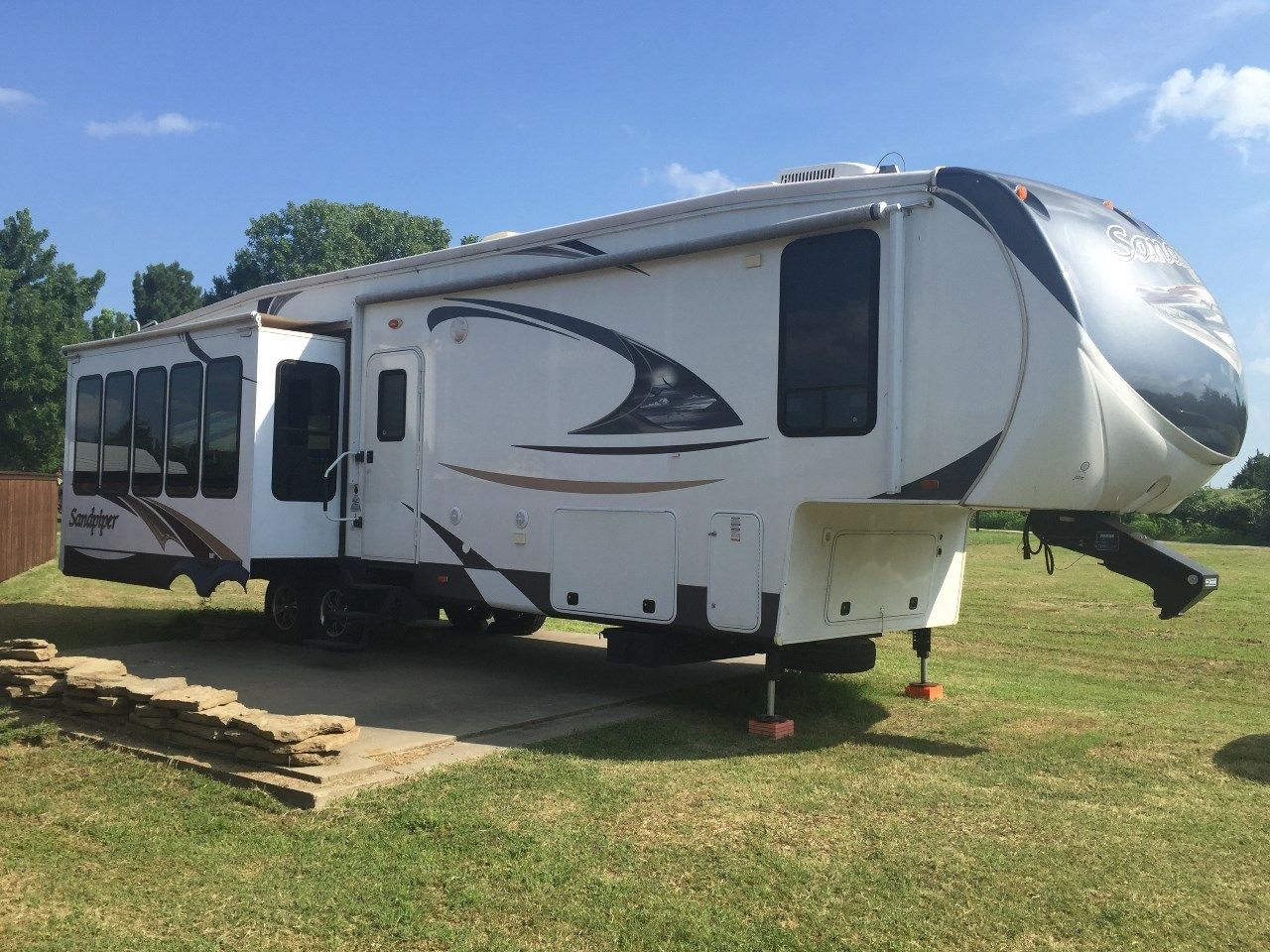 Check Out This 2013 Forest River Sandpiper 356rl Listing In Dawson
