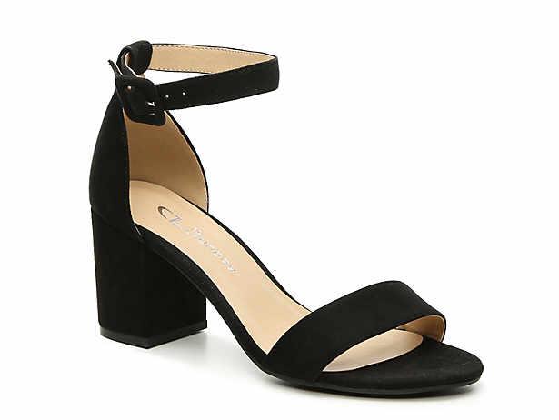 Women S Black Low Heel 1 2 Mid Heel 2 3 Dress Pumps Sandals Dsw Wedding Sandals Heels Velvet Sandals Heels