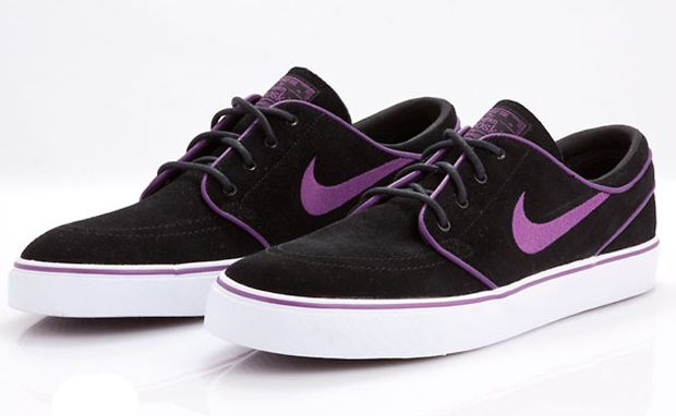 859882e2d5 Nike SB Zoom Stefan Janoski Black/Vintage Purple | Upcoming Releases ...