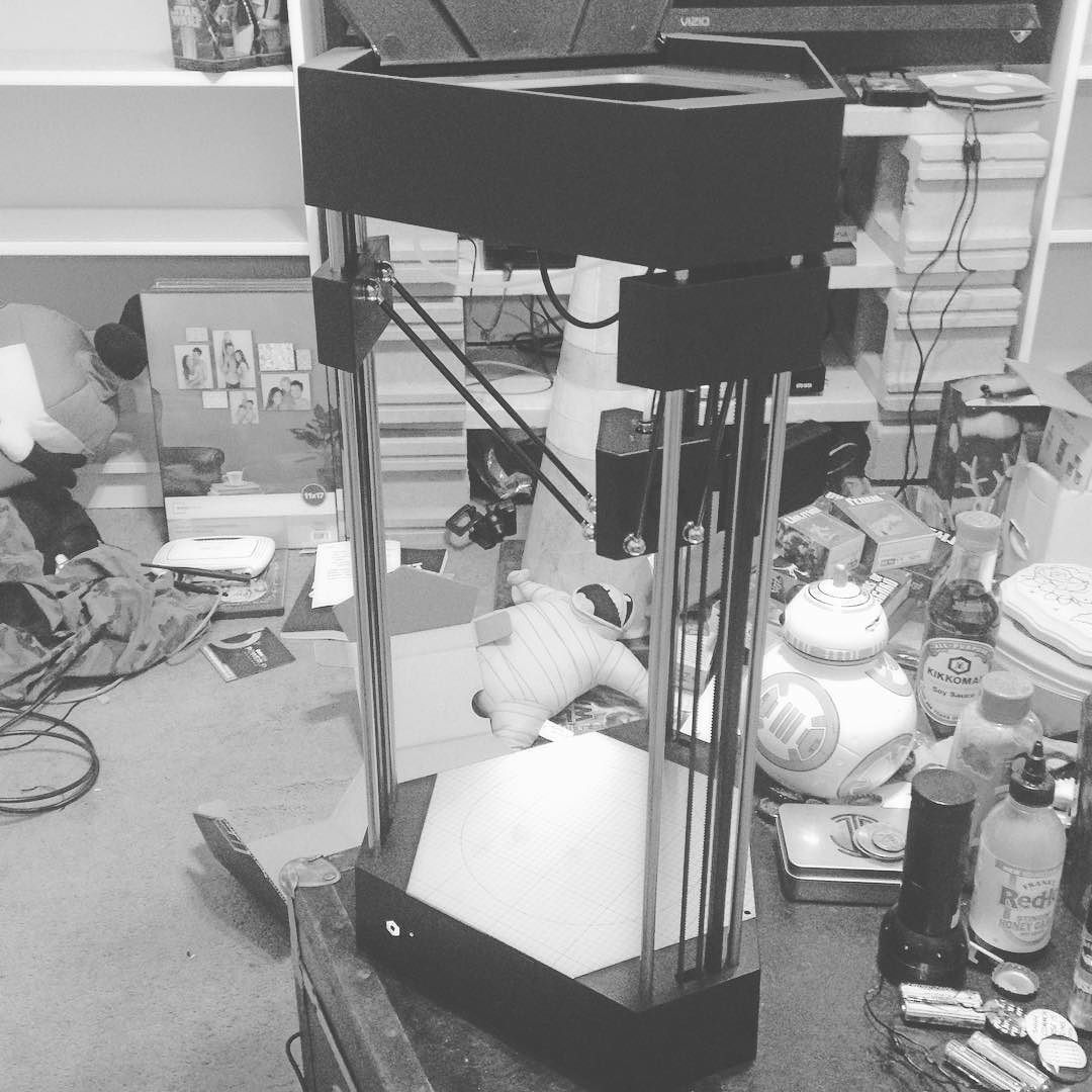 Something we liked from Instagram! My #fluxdelta #3dprinter slash #3dscanner slash #laserengraver! #soexcited #almostamaker #maker #diy #makeyourowntoys #stoked by jarebfoosh check us out: http://bit.ly/1KyLetq
