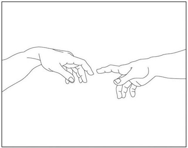Michelangelo Arte A Mano Disegni Pennarelli Come Disegnare Le Mani