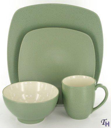 Noritake Colorwave Green – 16 piece QUAD set, service for four ...