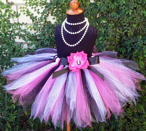Baby Shower Gift Halloween Costume Hot Pink Tutu First Birthday Party Present Fairy Princess Tutu Shocking Pink Photo Prop Pink Tutu